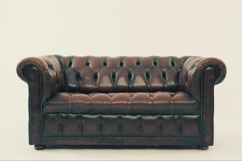 image canapé cuir propre